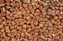 Fire wood background Stock Photo