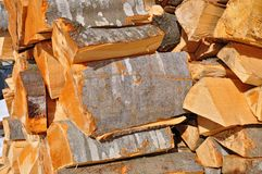 Fire wood close up Royalty Free Stock Photography