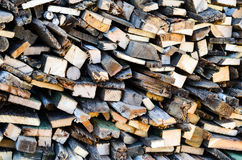 Fire wood Stock Photo