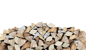 Fire wood concept rendered Stock Photography