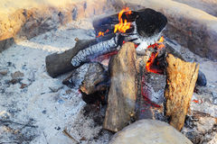 Fire wood for the fire to warm. Royalty Free Stock Photography