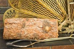 Fire wood log Stock Photography