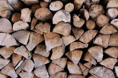 Fire wood logs Stock Photography