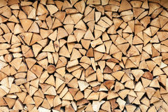 Fire wood logs Royalty Free Stock Photos