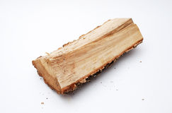 Fire wood in studio Stock Photos