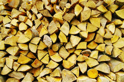 Fire woods Stock Image