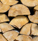 Fire woods Stock Images