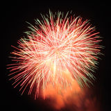 Fire work for celebrate season Royalty Free Stock Photo