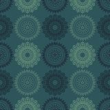 Fire work flowers symmetry seamless pattern. Suitable for screen, print and other media Stock Photography