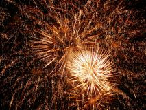 Fire works Royalty Free Stock Photos
