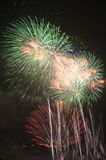 Fire works-2 Royalty Free Stock Photography