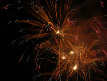 Fire Works 4 stock photo