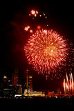 Fire Works. Celebrations Royalty Free Stock Photos