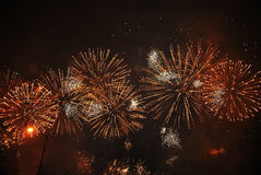 Fire Works. I took this pic while celebrating new year in London Stock Image