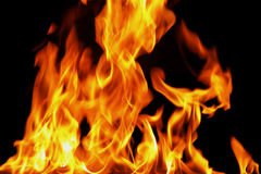 Fire13.jpg. Fire faces Stock Photo