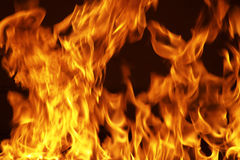 Fire15.jpg. Fire wall Stock Photos
