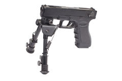 Firearm on bipod Stock Photography