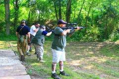 Firearms Class Stock Photo
