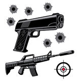 Firearms Royalty Free Stock Image