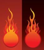 Fireball. Background , element for design, vector illustration stock illustration