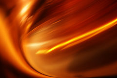 Fireball. Abstraction - background of freeball blaze glow temperature burn Stock Image