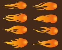 fireball ilustración del vector