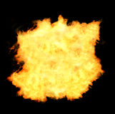 Fireball flames Royalty Free Stock Images