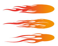 Fireball illustration. Fast fireball illustration design Royalty Free Stock Photography