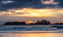 Fireball. Schooner Cove, Tofino, Ucluelet, British Columbiaf Stock Image