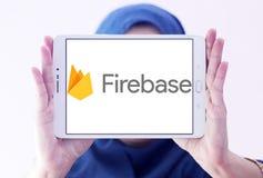 Firebase google logo Stock Image