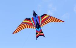 Firebird kyte w niebieskim niebie Obrazy Stock