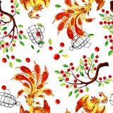 Firebird pattern stock illustration