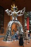 Firebird rzeźba zdjęcie stock