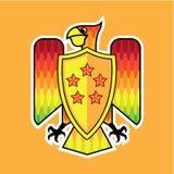 Firebird Shield logo vector Royalty Free Stock Photos
