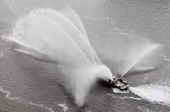 Fireboat Ballet #1 stock photo