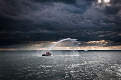 Fireboat Stock Images
