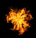 firebomb arkivfoton
