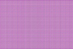 Firebrick Gingham pink and white pattern. Texture from rhombus/squares for - plaid, tablecloths, clothes, shirts, dresses, paper. And other textile products royalty free illustration