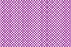 Firebrick Gingham pink and white pattern. Texture from rhombus/squares for - plaid, tablecloths, clothes, shirts, dresses, paper. And other textile products stock illustration