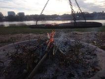 Firecamp Стоковая Фотография