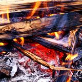 Firecamp Royalty Free Stock Images