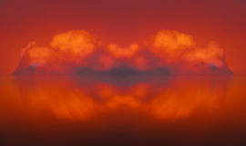 Firecloud abstract cloud composing Stock Images
