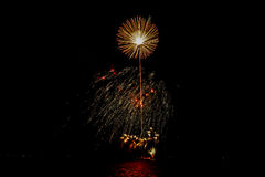 firecracker Royalty-vrije Stock Foto