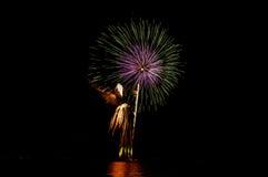 firecracker Royalty-vrije Stock Foto's