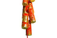 Firecracker of the chinese new year royalty free stock image