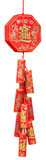 Firecracker of the chinese new year Royalty Free Stock Images
