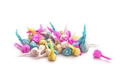 Firecracker paper balls Stock Images