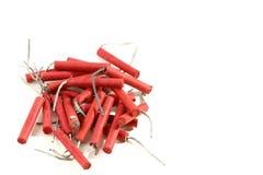 firecrackers σωρός Στοκ Εικόνες