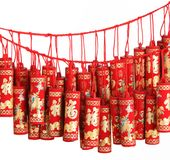 Firecrackers Royalty Free Stock Image