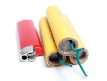 Firecrackers Royalty Free Stock Images